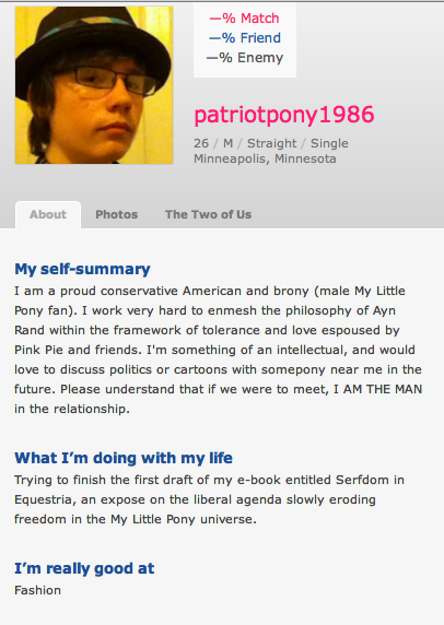 Witty dating profiles