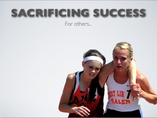 Sacrificing Success