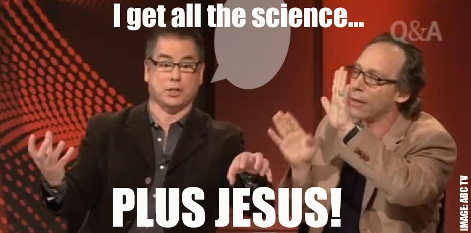 science plus Jesus