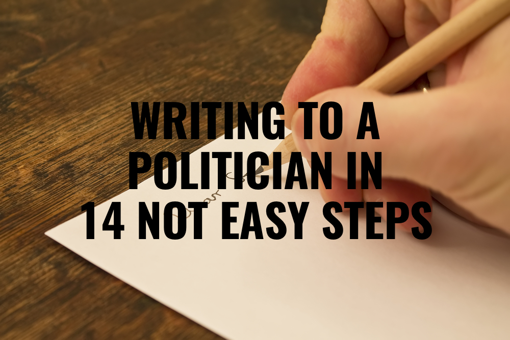 writingtoapolitician