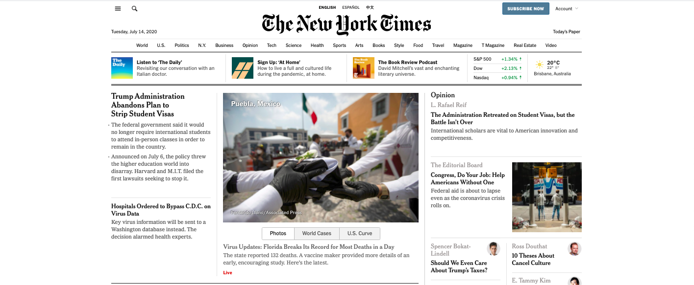 The Flailing New York Times: why we need media(ting) institutions that mediate, not culture warriors
